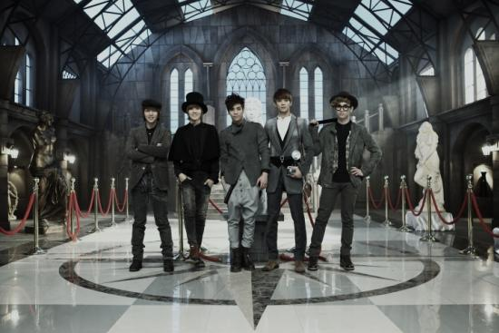 Korean Boy Group Shinee's Sherlock